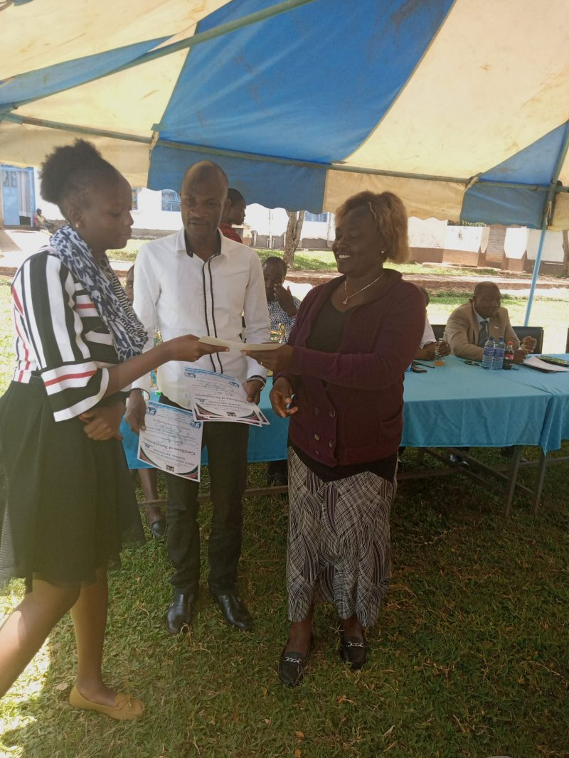 Deputy Principal issuing Certificates