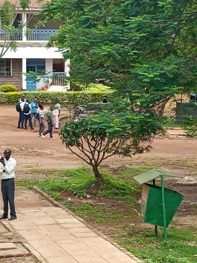 Student Leaving