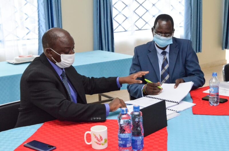 Mr. J.W. Okumu and Mr. D. Randa