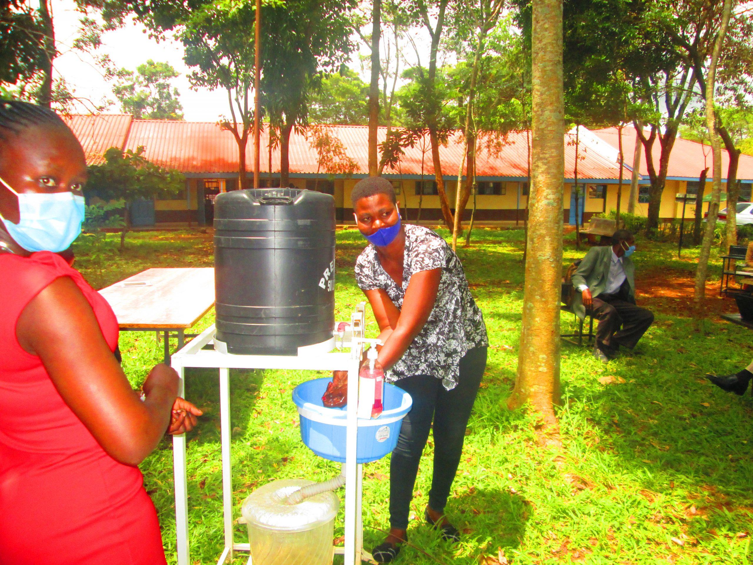 Handwashing Demonstration 3