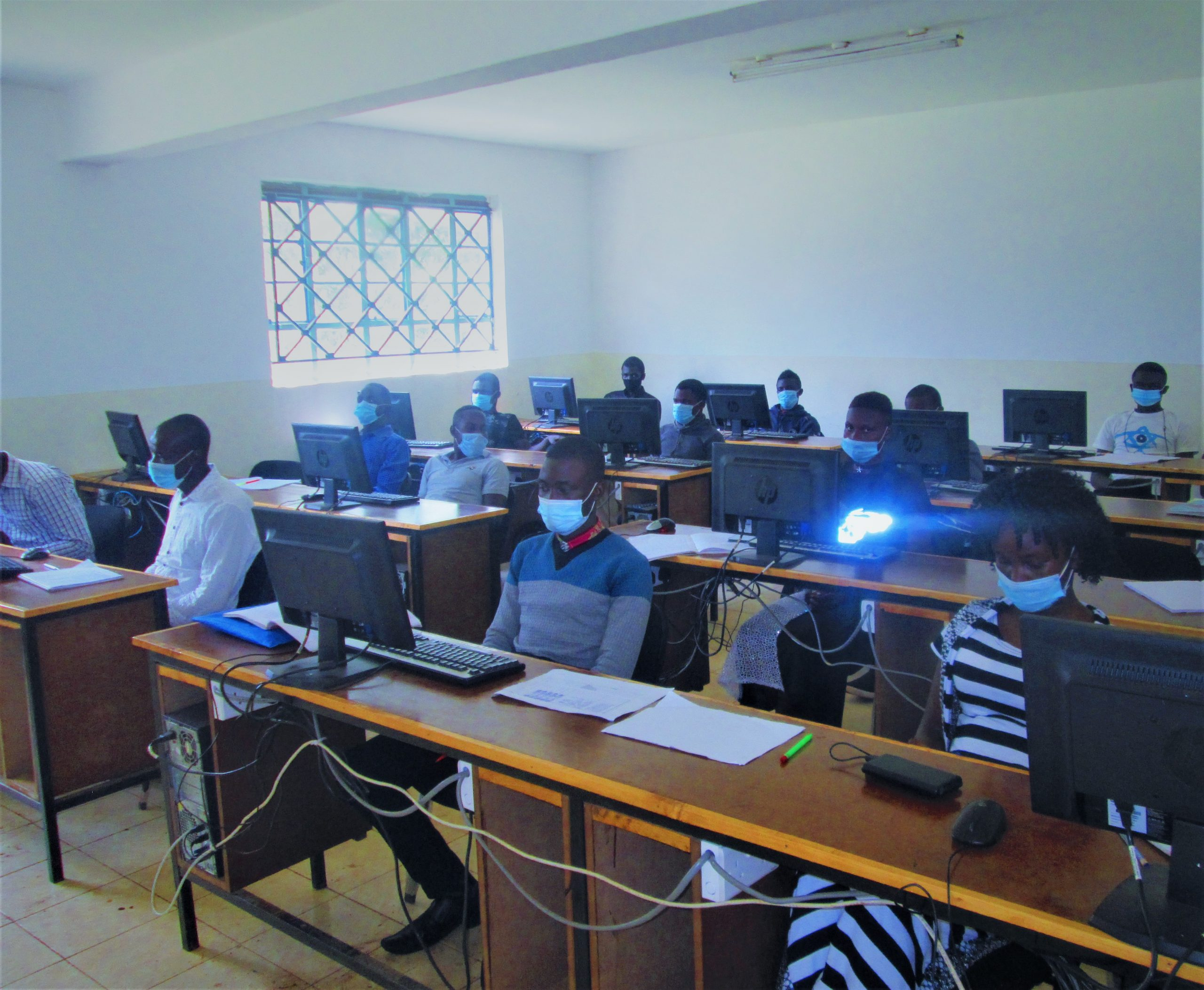 Students in ICT Lab